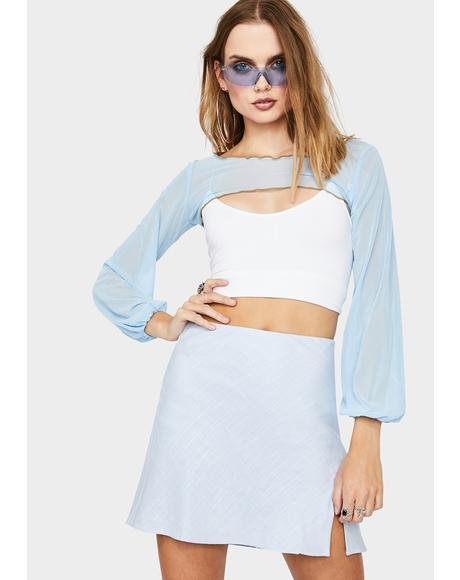 Ethereal Mood Mini Skirt