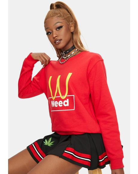 Burn Weed Sweatshirt