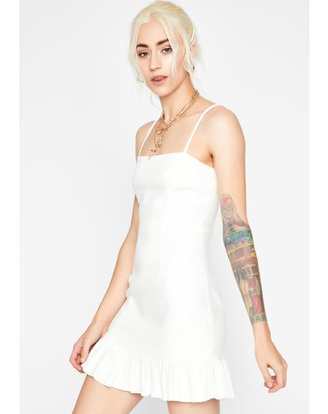 Sunshine Sweetheart Ruffled Dress