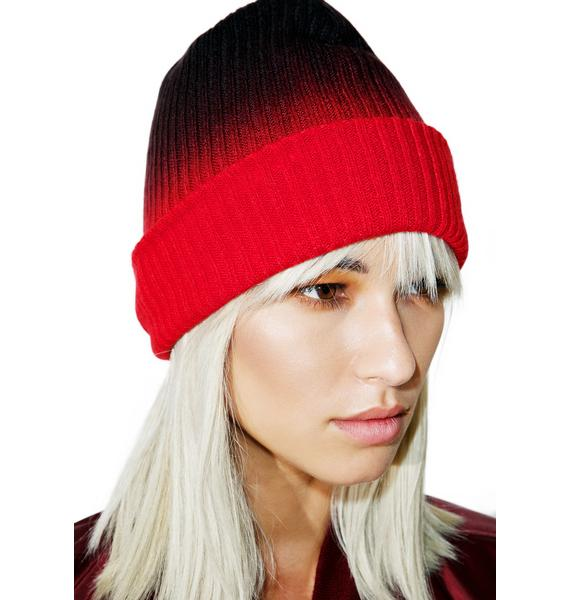 Fan The Flames Ombre Beanie
