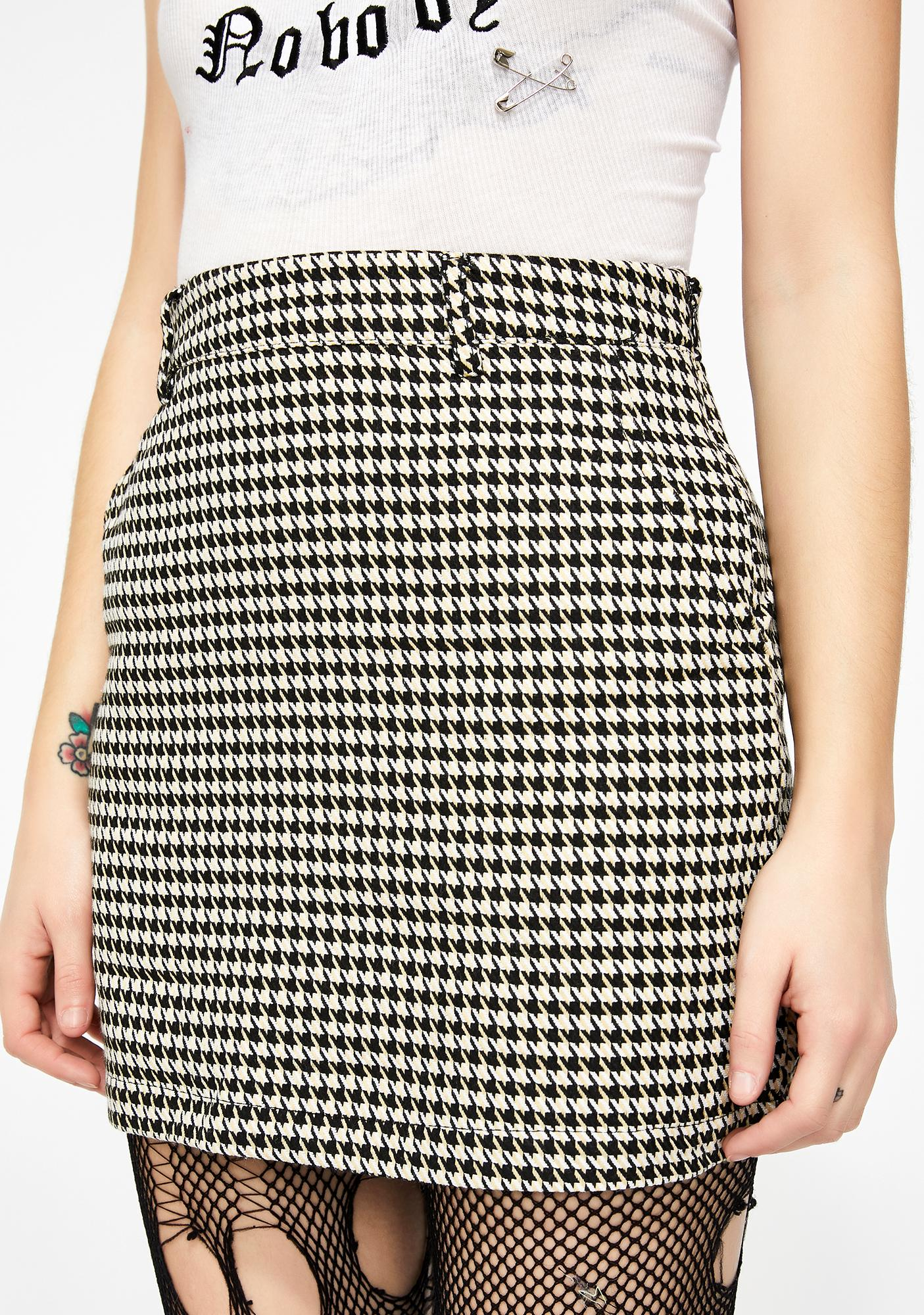 Strut It Out Mini Skirt by