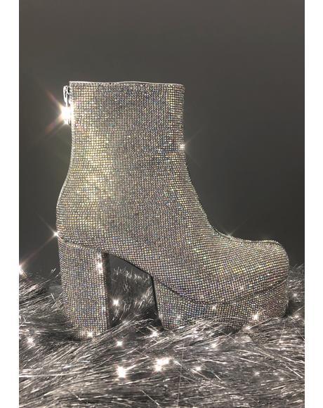Crystal Tide Platform Boots