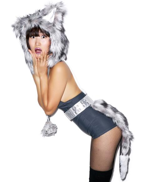 Who Let the Wolf Out Belted Tail