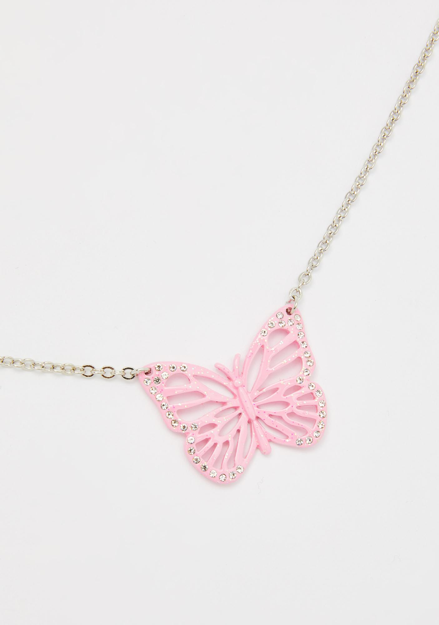 Spoiled Cute Butterfly Necklace