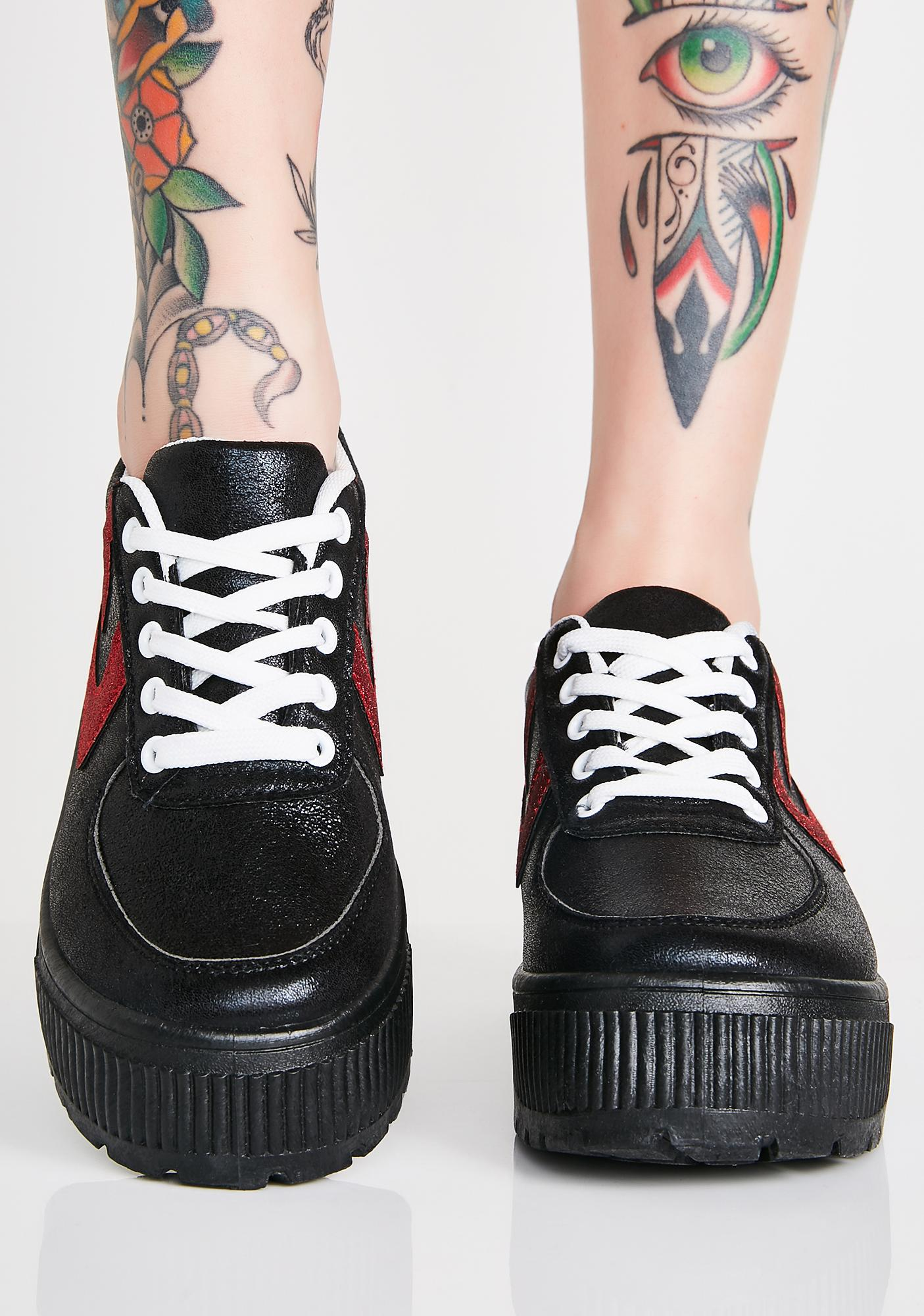 Walk It Out Platform Sneakers