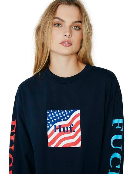 Domestic Fuck It Long Sleeve Tee
