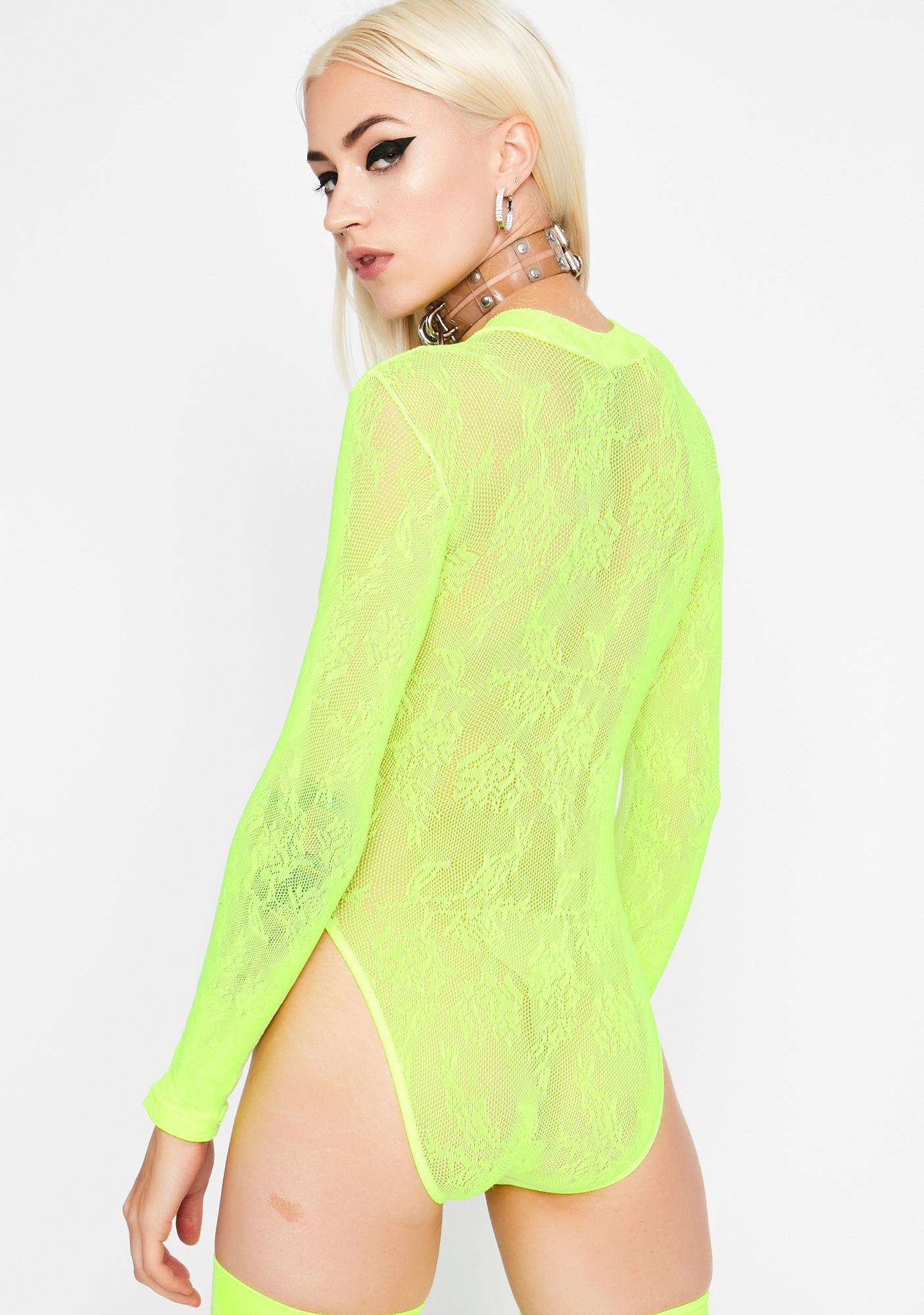 Electric Love Lace Bodysuit
