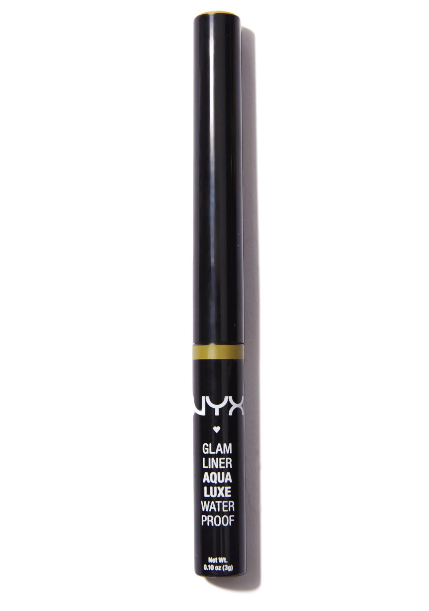 NYX  24 Karat Aqua Luxe Glam Liner