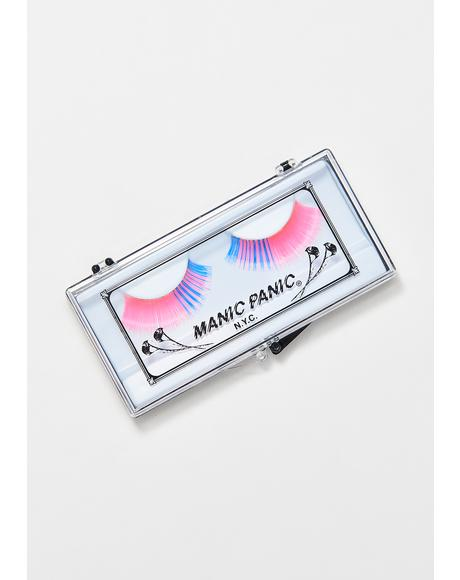 Spiral Dance UV Reactive Eyelashes