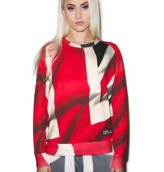 ELEVENPARIS Fix Hate Sweater