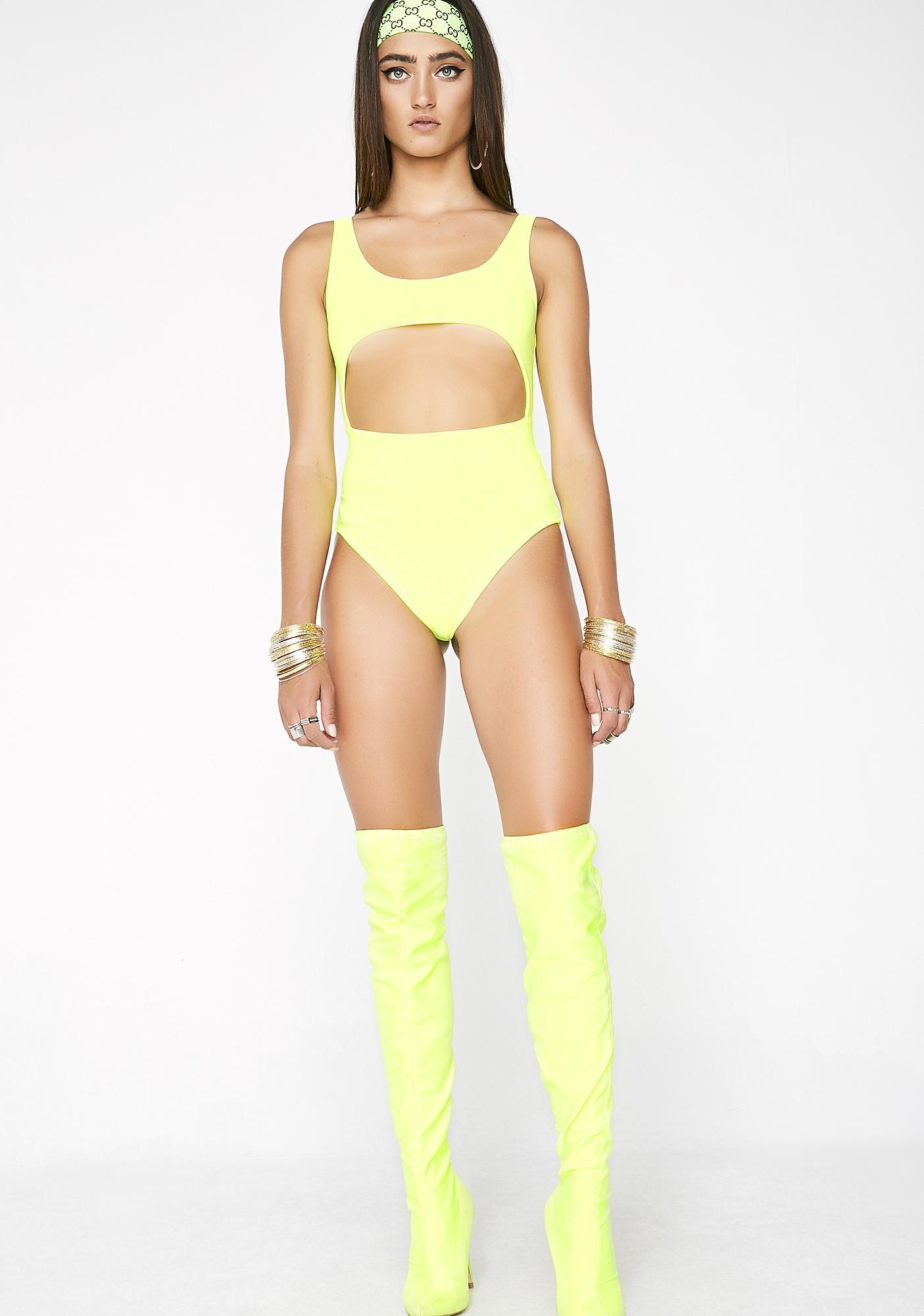 Sunny Open Space Bodysuit