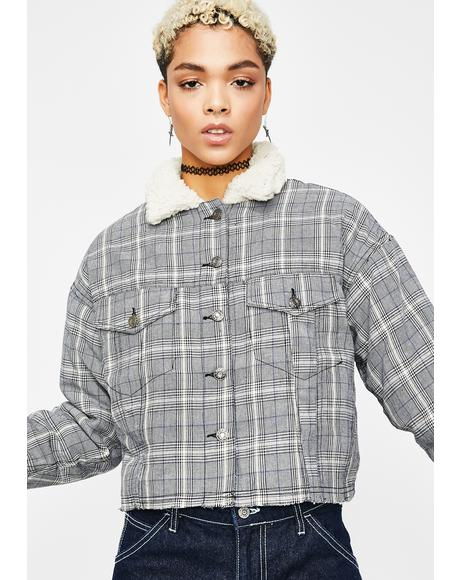 Badd Burr Plaid Jacket