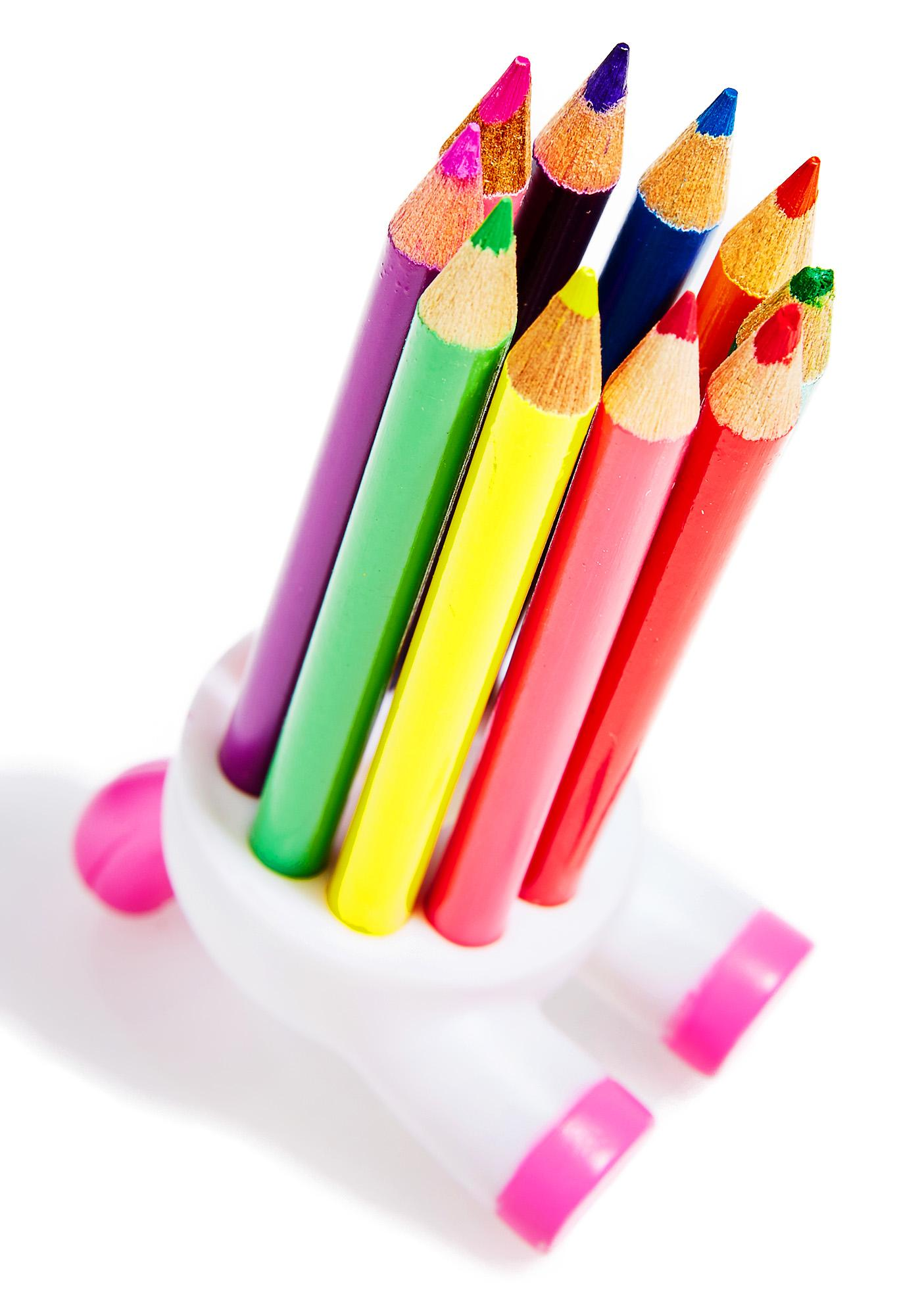 Unicorn Of Rainbow Pencils Set