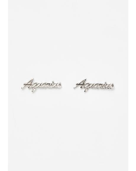 Lil Miss Aquarius Earrings