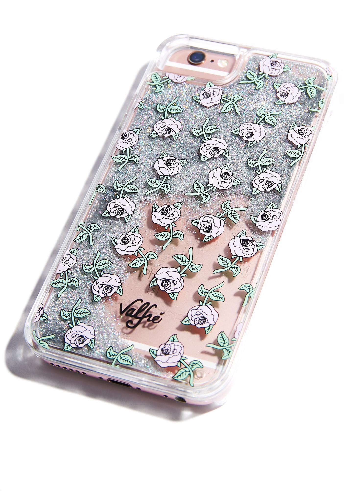 Valfré Rose Glitter iPhone Case