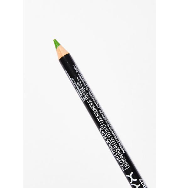 NYX Acid Green Eye/Eyebrow Pencil