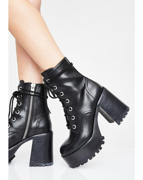 Stay Salty Platform Boots