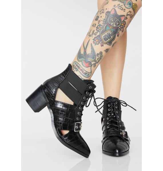 Wanderlustin' Cut Out Boots