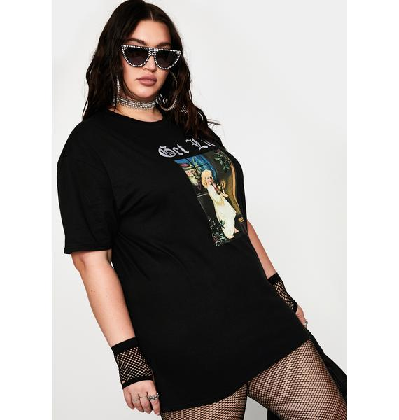NEW GIRL ORDER Plus Get Lit Graphic Tee