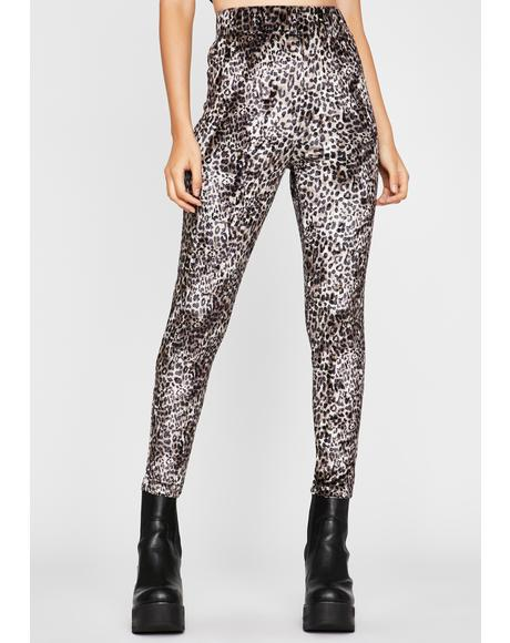 Kitty Kween Leopard Leggings