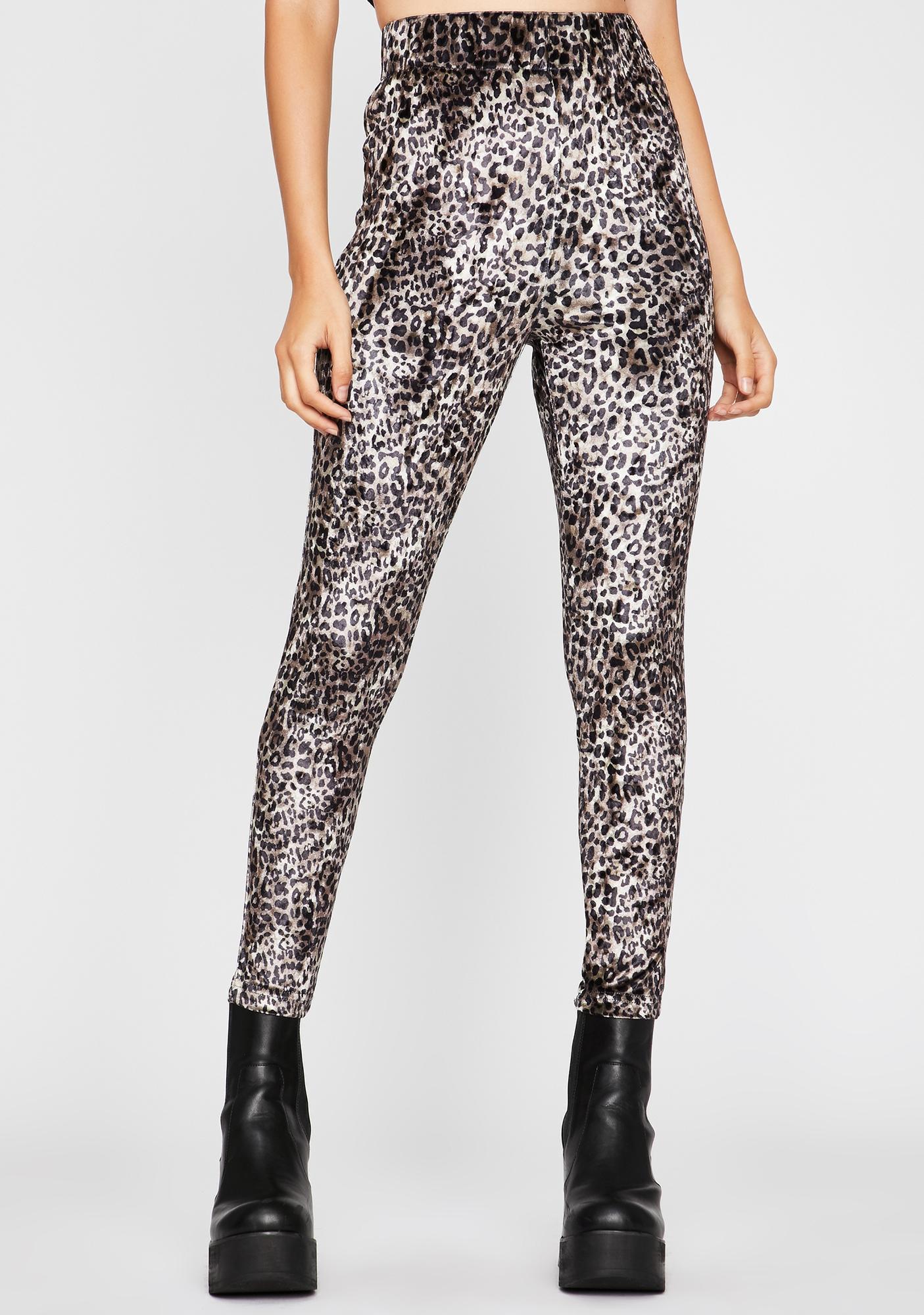 Kitty Kween Leopard Leggings