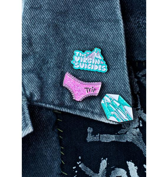 Eye Candy Designs The Virgin Suicides Enamel Pin Set