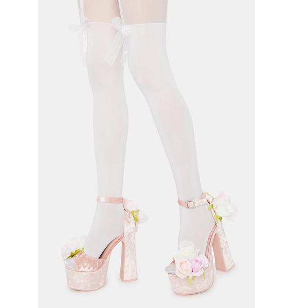 Pure Sleepy Time Bow Tights