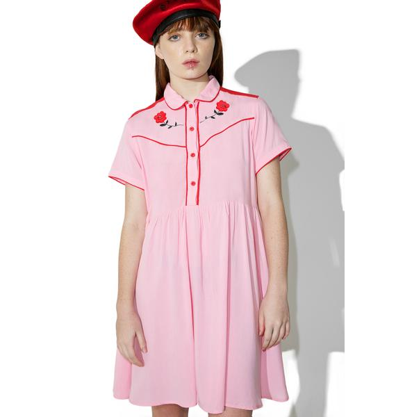 Lazy Oaf Western Rose Dress