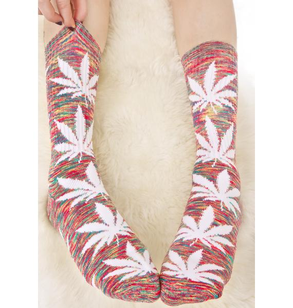 HUF Streaky Plantlife Sock