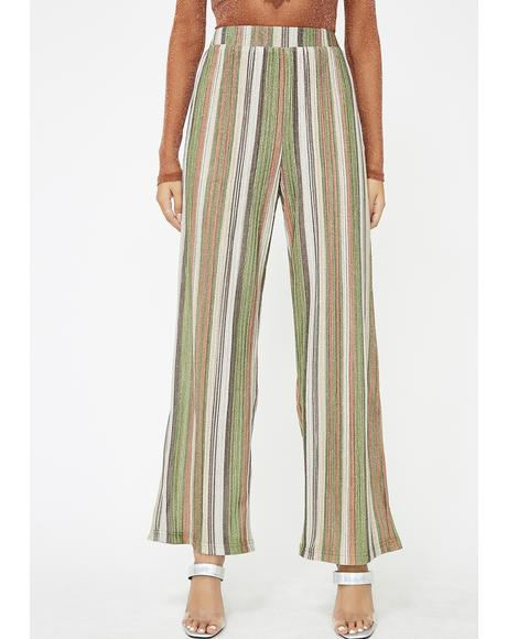 Mojito High Beams Striped Pants