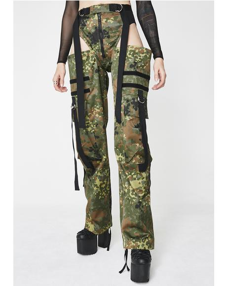 Camo Panty Trousers