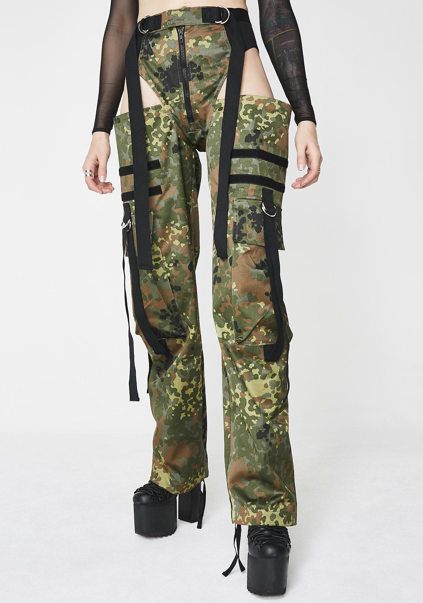 Camo Panty Trousers by Namilia
