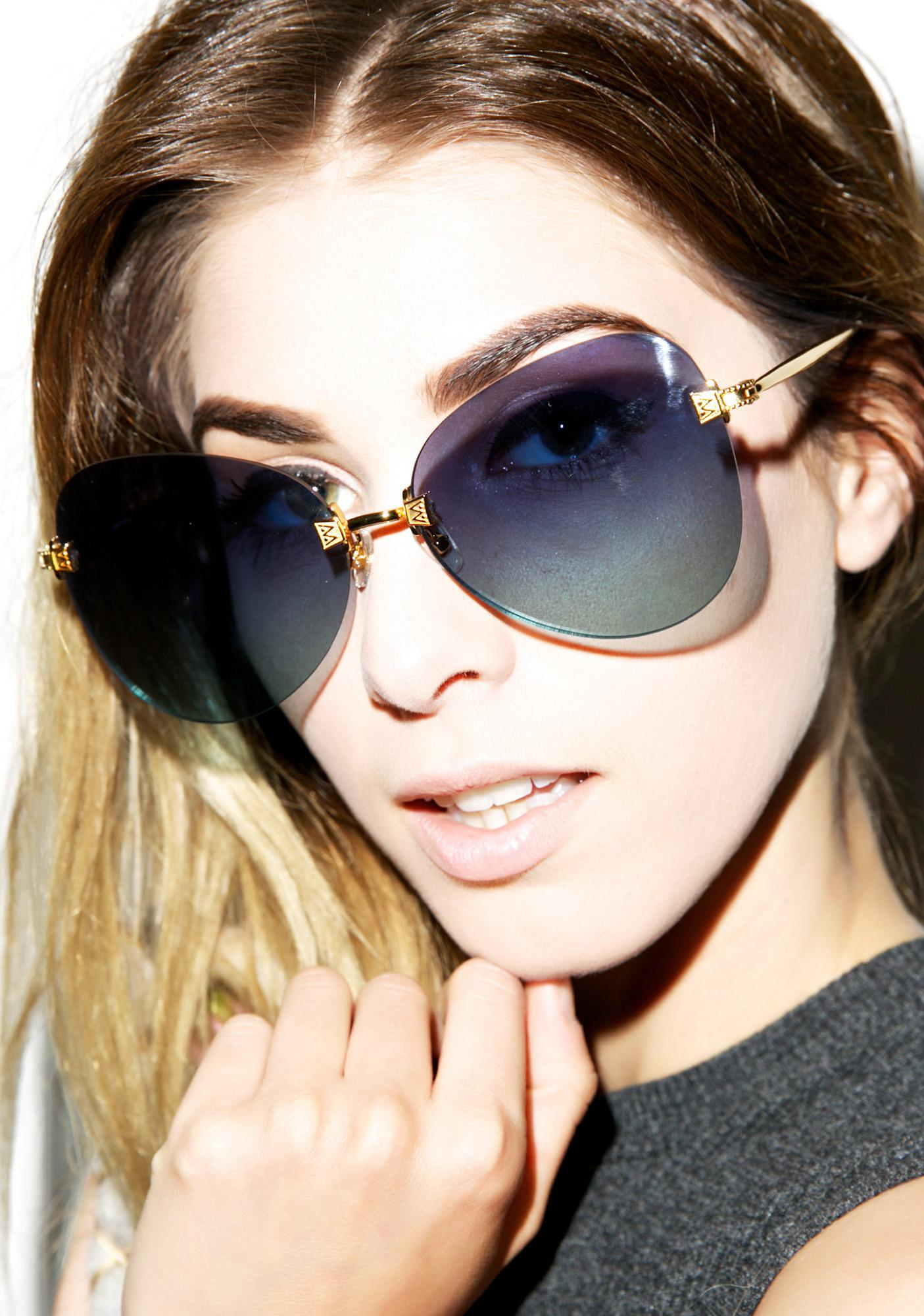 Wildfox Couture Madame Sunglasses