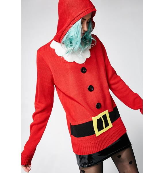 Santa Hoodie Sweater