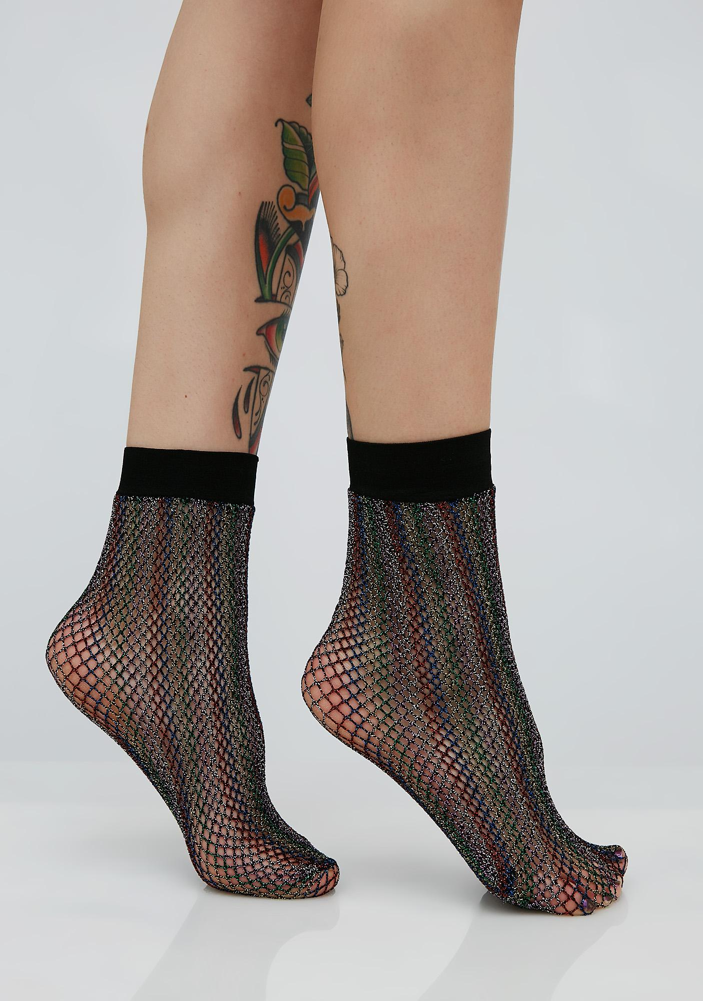 Catch A Rainbow Ankle Socks