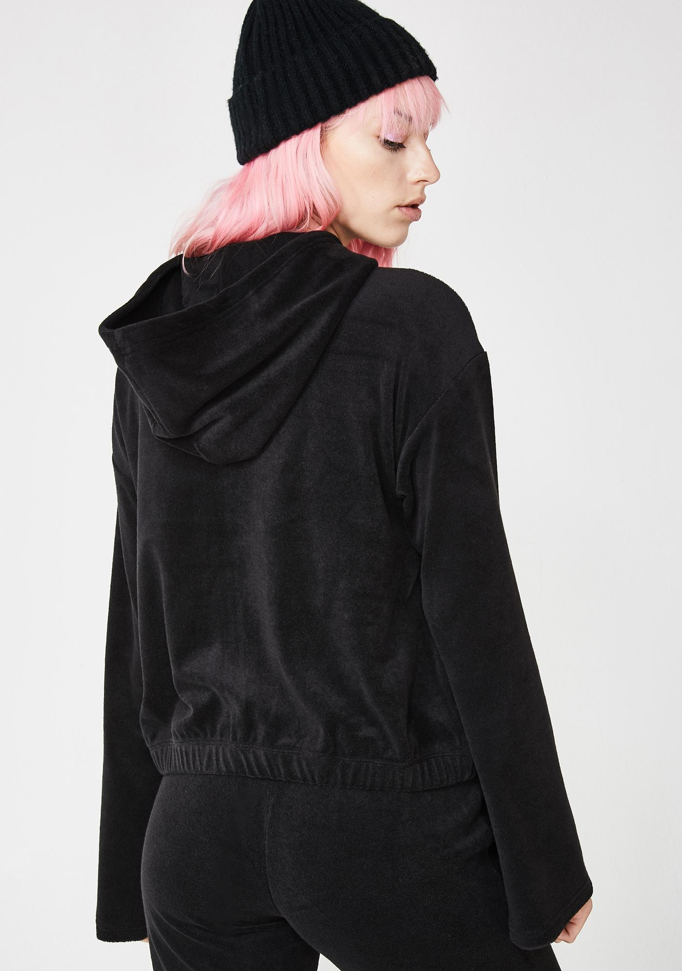 JUICY COUTURE Gothic Juicy Logo Track Jacket