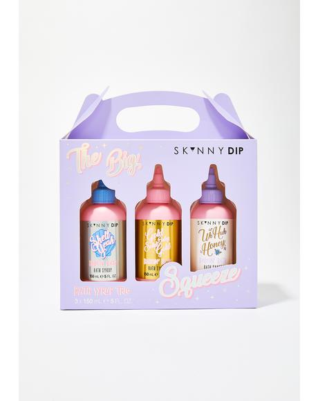 The Big Squeeze Bath Syrup Trio
