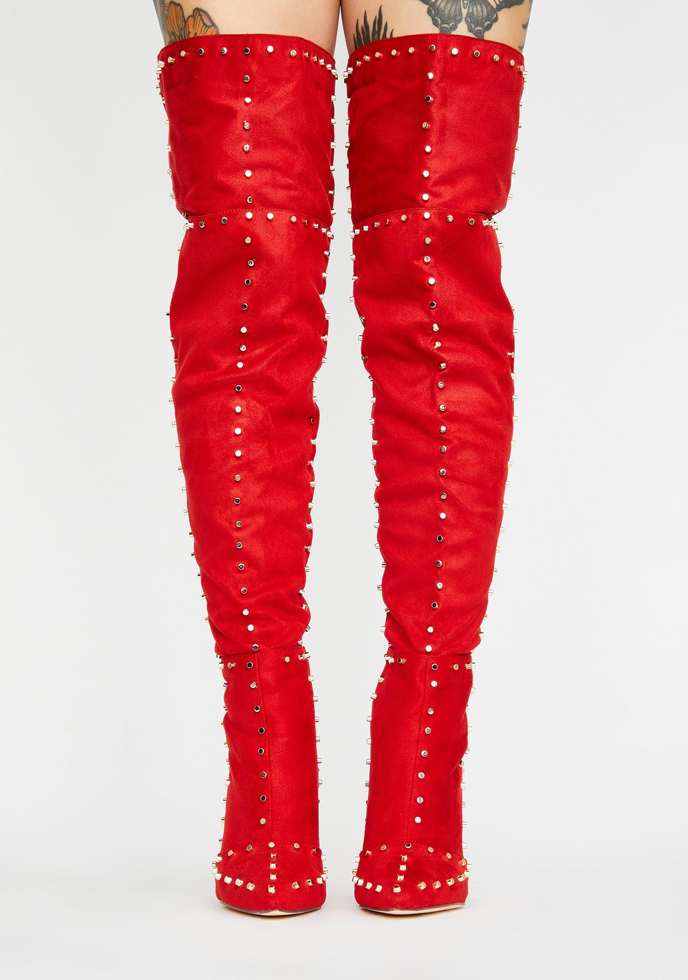 Vixen Alert Knee High Boots