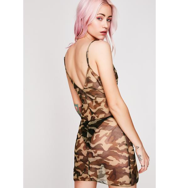 Not A Drill Sheer Dress