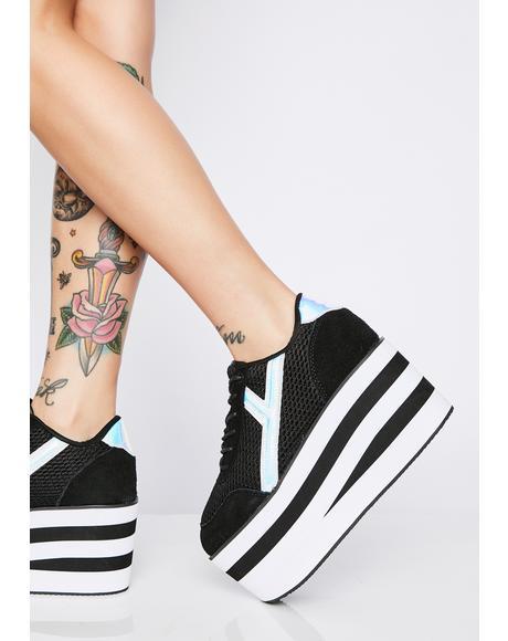 Karazii II Holographic Platform Sneakers