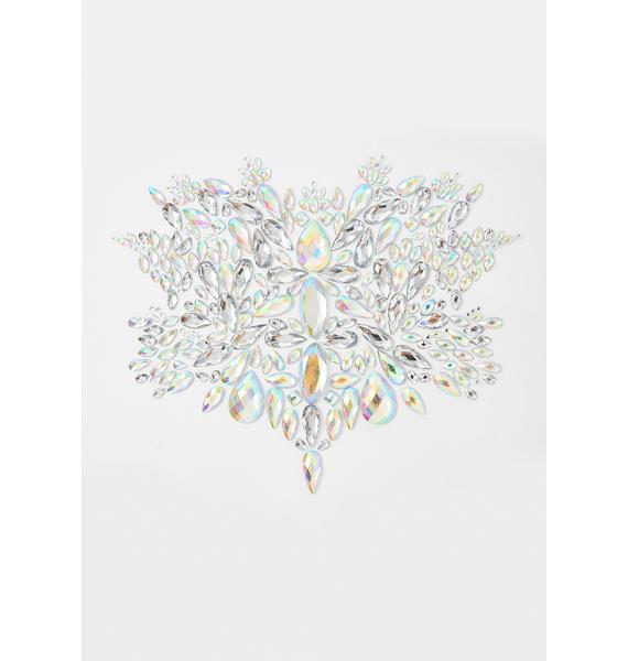 SHRINE Silver Crystal Body Jewel