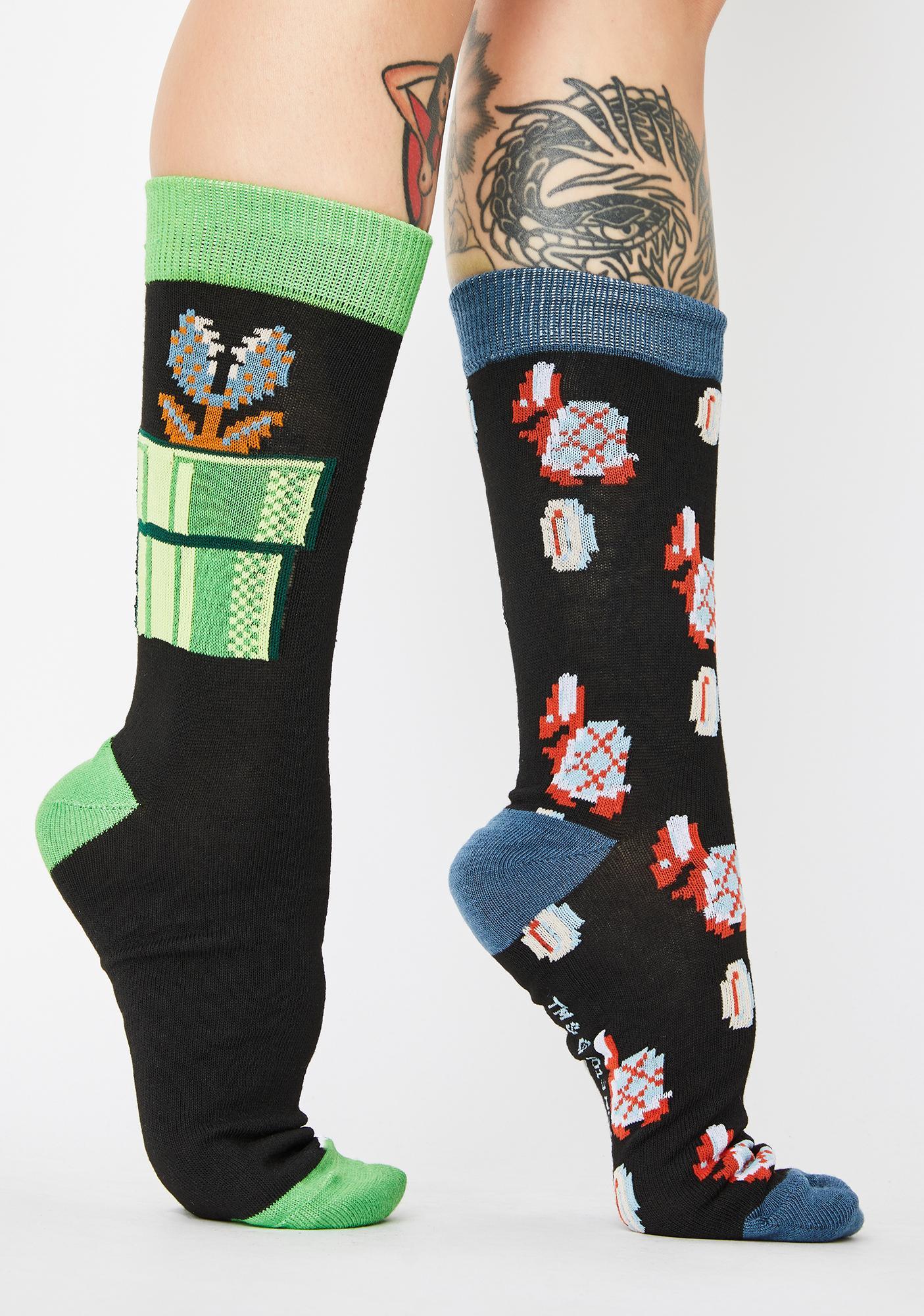 Super Mario Socks Pack