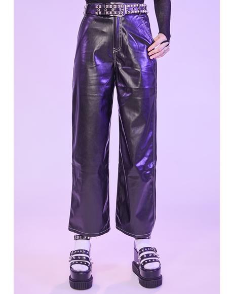 Lurk The Night Vegan Leather Pants