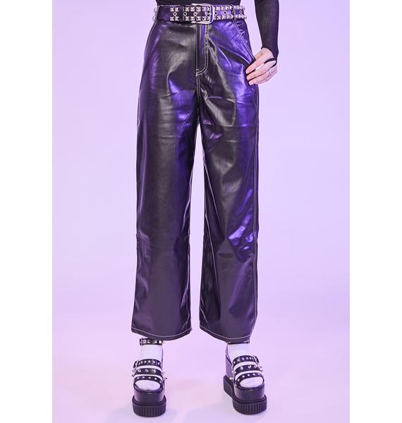 Lurk The Night Vegan Leather Pants