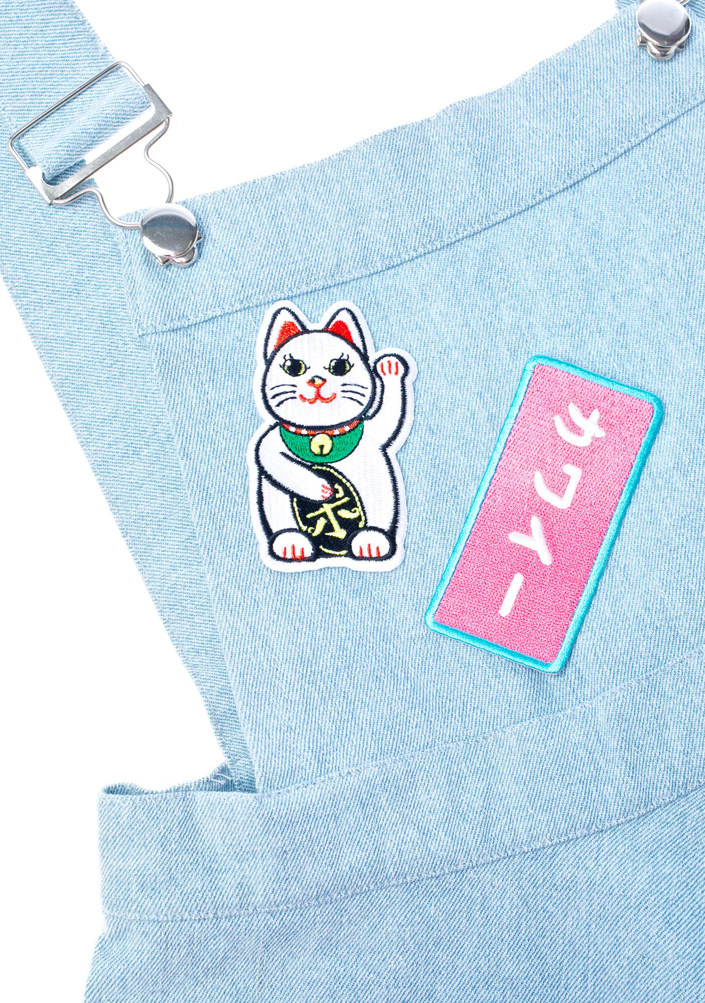 Pop Killer Lucky Cat Patch