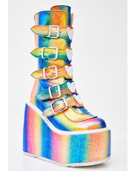 Freaky Lovesick Trinity Boots