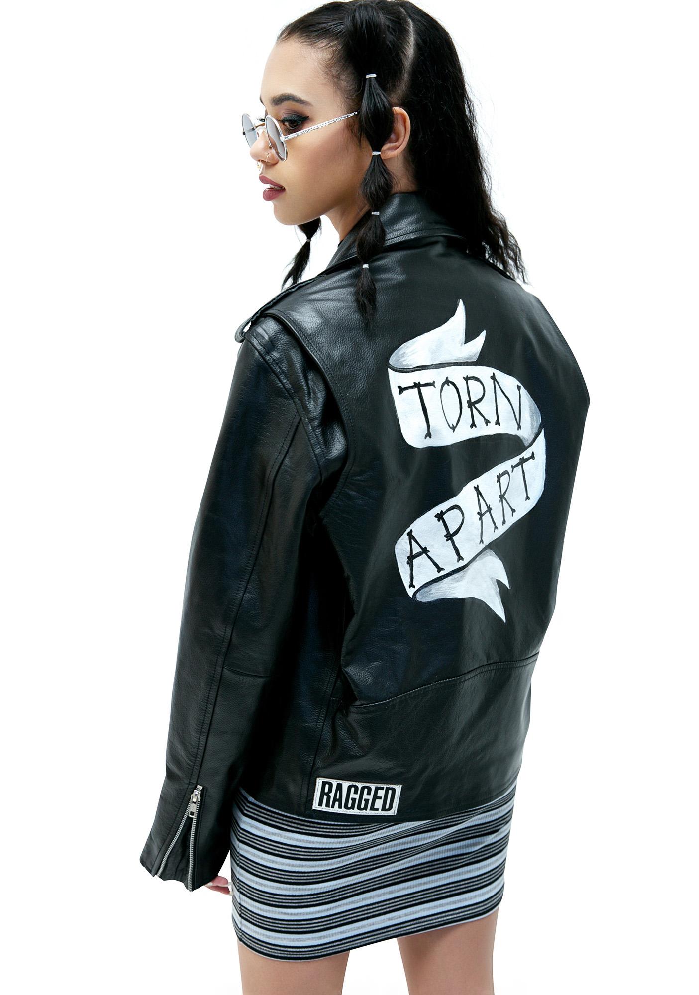 The Ragged Priest Shredder Biker Jacket