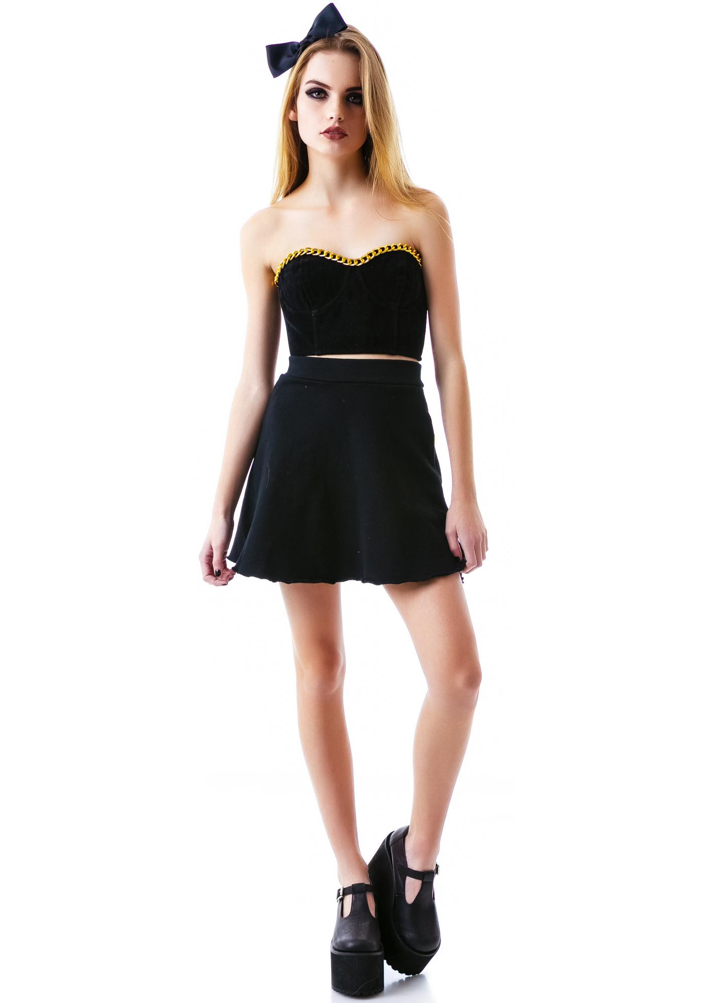 Mink Pink My Way Or The Highway Bustier