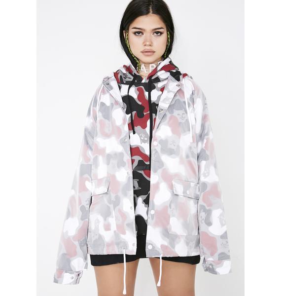 RIPNDIP Nerm Psycho Clear Raincoat Jacket