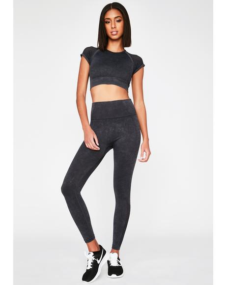 Running Start Seamless Crop Top